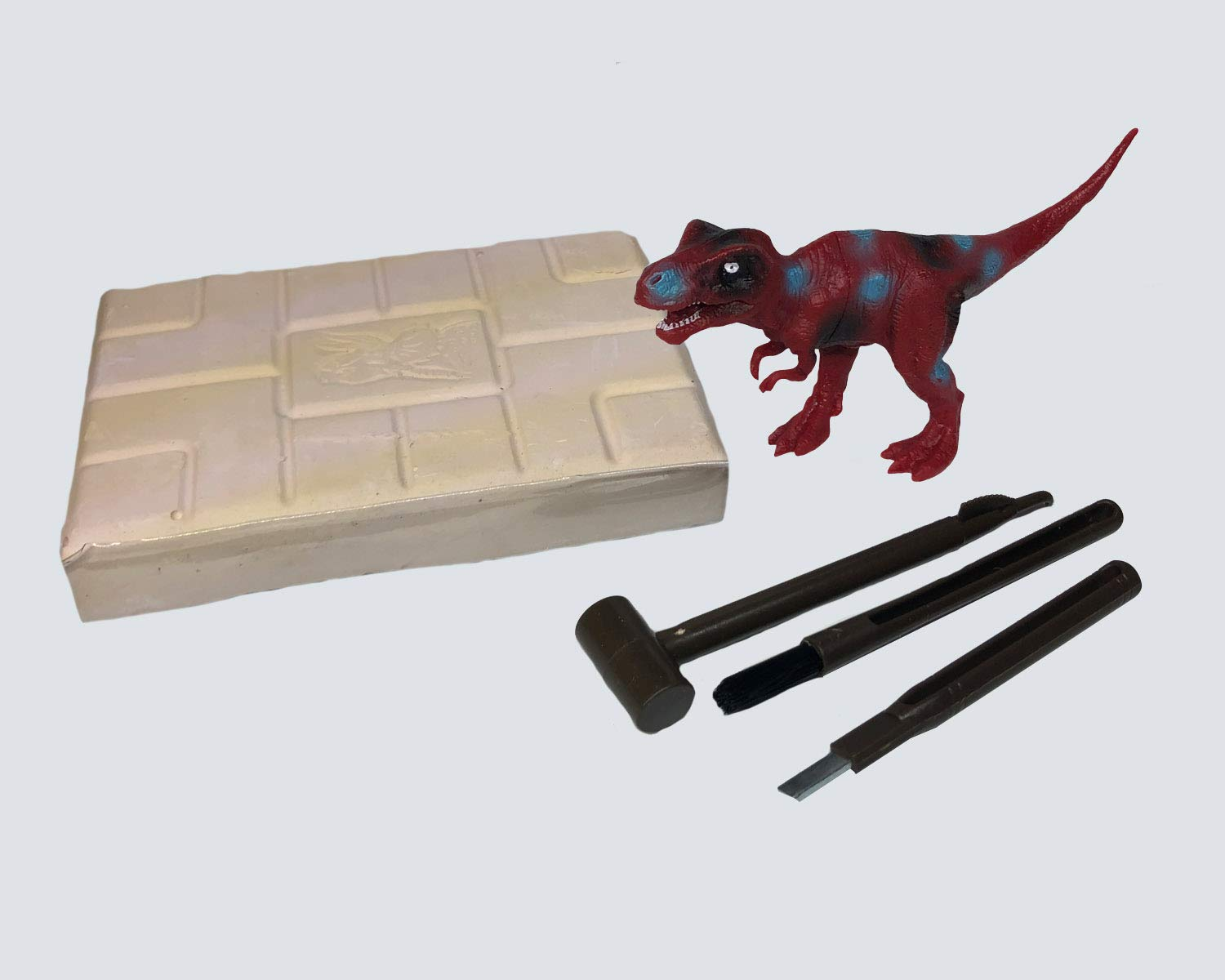 T-Rex Dinosaur Excavation Tools-Wooden Excavationtools-Fun and Classic  Games-Child Science kit-Discovery Fossil Dig Great Science, Archeology,