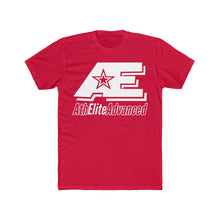 Load image into Gallery viewer, AE Logo Clean White Men's Cotton Crew Tee (Reds, Pink, & Purple)