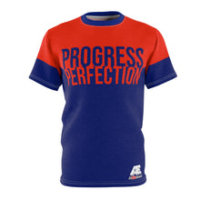 "Load image into Gallery viewer, ""PROGRESS OVER PERFECTION"" AthElite Advanced Tee"