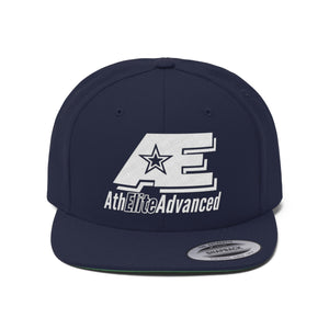 AthElite Advanced Logo Unisex Flat Bill Hat