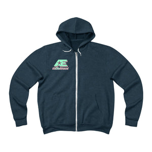 Mint & Ginger AthElite Advanced Logo Zip-Up Hoodie