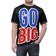Load image into Gallery viewer, GO BIG AthElite Advanced Unisex Tee (Black)