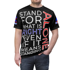 """STAND ALONE"" Unisex Tee (BLACK)"