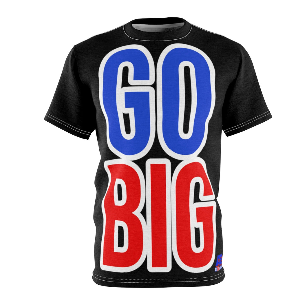GO BIG AthElite Advanced Unisex Tee (Black)