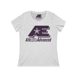 Plum AthElite Advanced Logo Women's Relaxed Jersey Short Sleeve Scoop Neck Tee