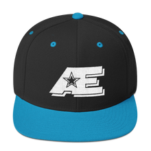 Load image into Gallery viewer, AE Logo (White on White) AthElite Advanced Snapback Hat
