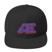 Load image into Gallery viewer, AE Logo (Pink & Purple) AthElite Advanced Unisex Snapback Hat