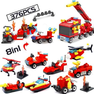 lego city fire chief response truck building set