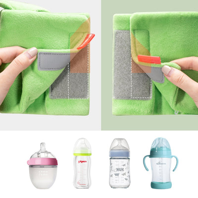 portable baby milk water warmer USB lovely baby bottle water warmer soft plush