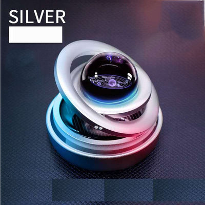 Solar Magnetic Levitation Rotating Ornaments Car Decoration Solar System figurines Accessories Creative Gift