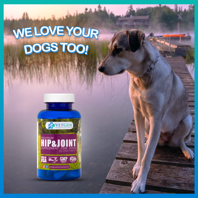 Dog hip & joint supplement - Love your dogs too