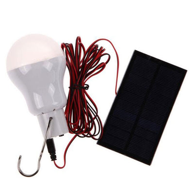 Portable 110LM LED Solar Power Outdoor Camping Light