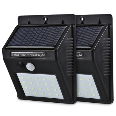 LED Solar Power Motion Sensor Security Lamp