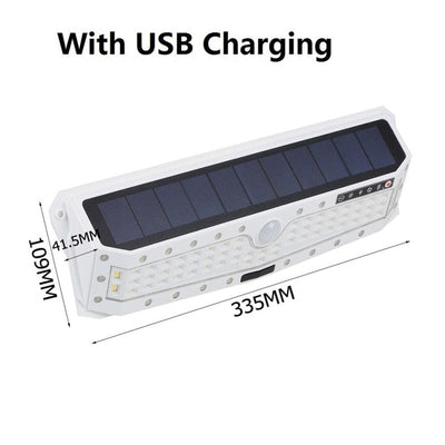 Waterproof Garden Solar Powered USB Charging light