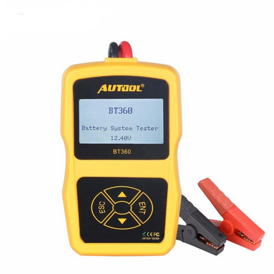 Car Battery Tester Digital Auto Test Analyzer Tools