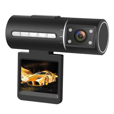 FHD 1080p Mini Car DVR Camera Detachable Screen Rotatable Lens WDR Night Vision Dash Cam Recorder Loop Video Recording Function