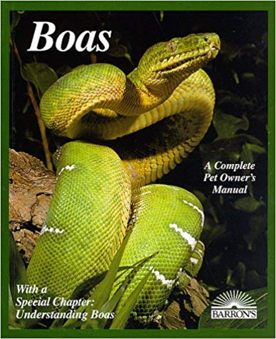 Boas (Complete Pet Owner's Manuals) by Doug Wagner