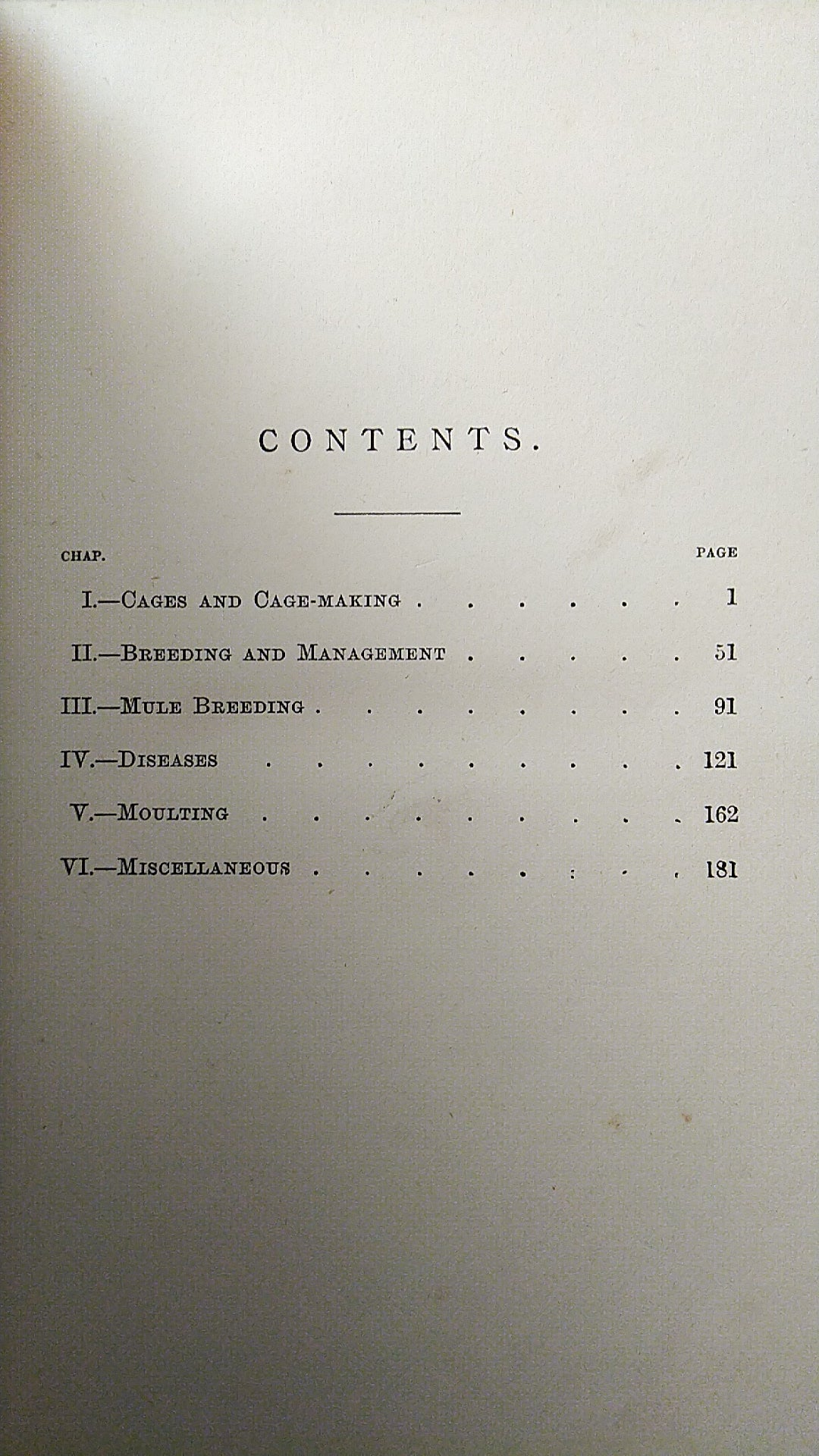 The Canary Book by R. Wallace third edition 1893 in two sections