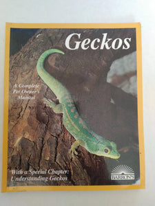 Geckos by Richard D. Bartlett, Patricia P. Bartlett