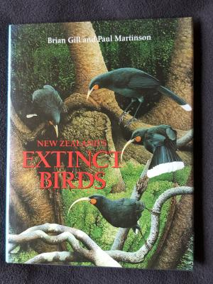 New Zealand's Extinct Birds by Brian Gill