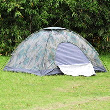 Double Camouflage Tent