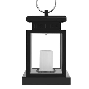 LED Flickering Solar Lantern