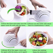Salad Cutter Bowl – get your chopped salad in 60 seconds