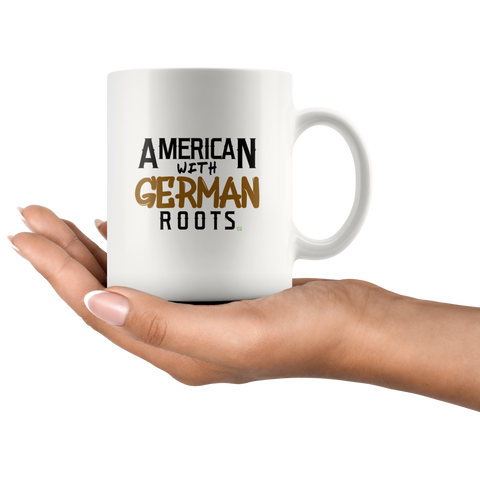 Image of German Gifts for Men and Women - German American Pride Coffee Mug | Celebrate German American Day with German Gifts Funny and Patriotic Drinking Cup