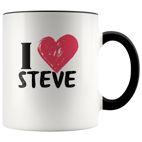 I Love (Insert Name) Mug for Him or Her