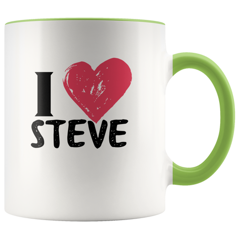 Image of I Love (Insert Name) Mug for Him or Her