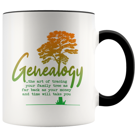 Image of Genealogy, the art of... Coffee Mug