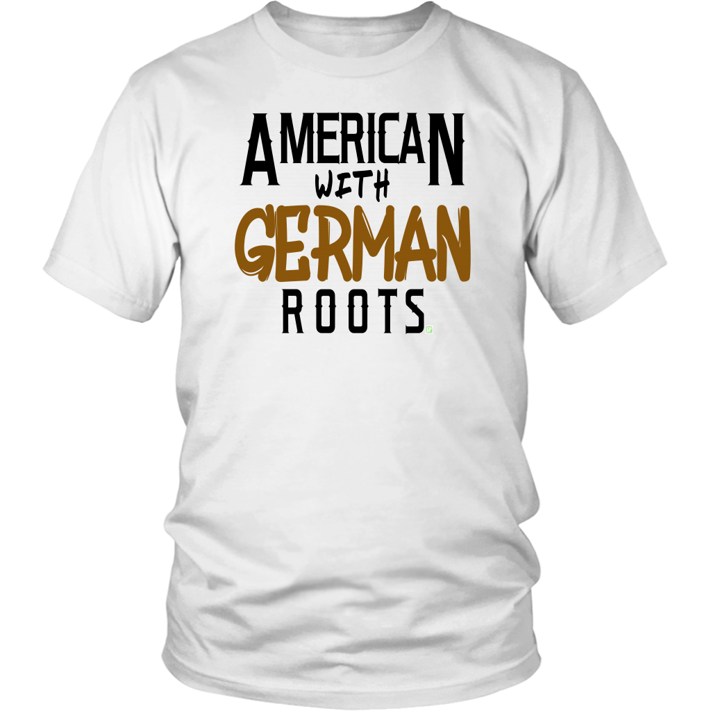 """American With German Roots"" Unisex T-Shirt"