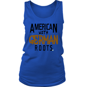 """American With German Roots"" Women's Tank"