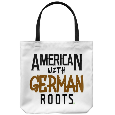 """American With German Roots"" Tote"