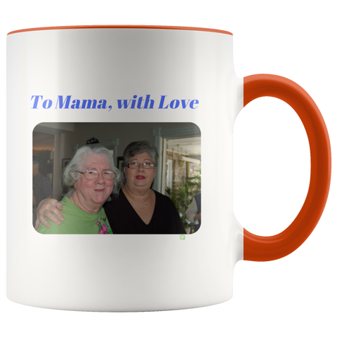To Mama, with love Mug - Personalized v2
