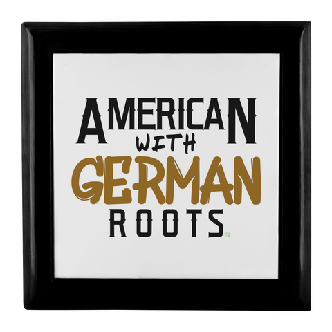 "Image of ""American With German Roots"" Jewelry Box"