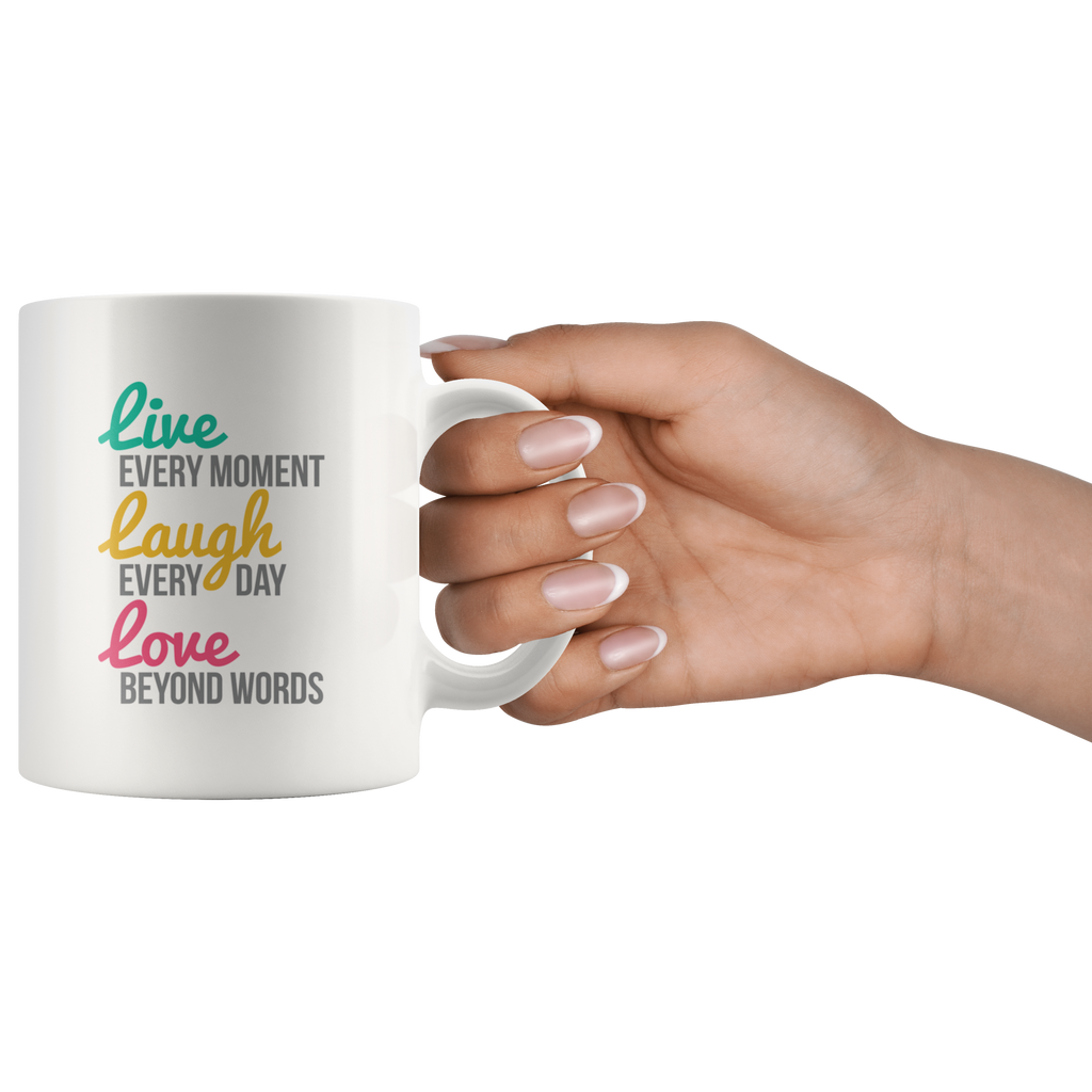 Live, Laugh, Love Coffee Mug for Her