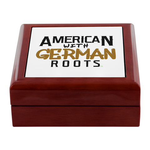 """American With German Roots"" Jewelry Box"