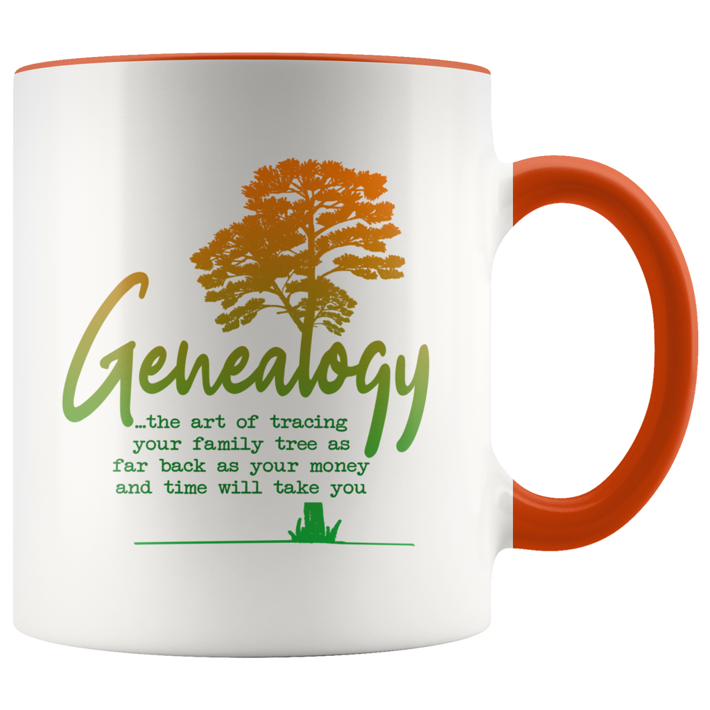 Genealogy, the art of... Coffee Mug