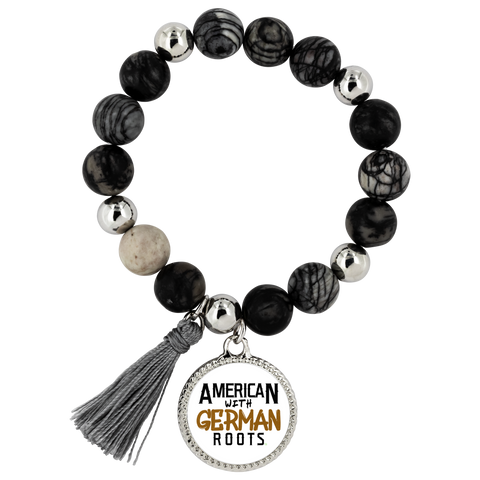 "Image of ""American With German Roots"" Bracelet - Lyric"