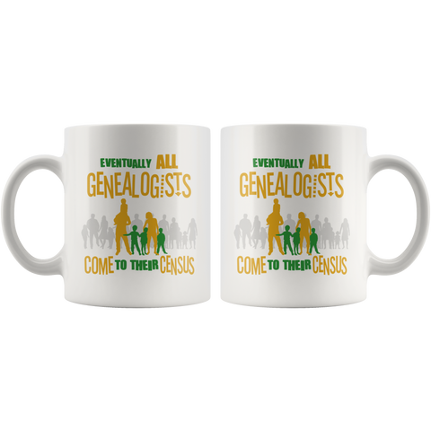 Eventually All Genealogists Come To Their Census