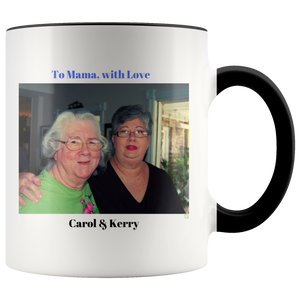 To Mama, with love Mug - Personalized