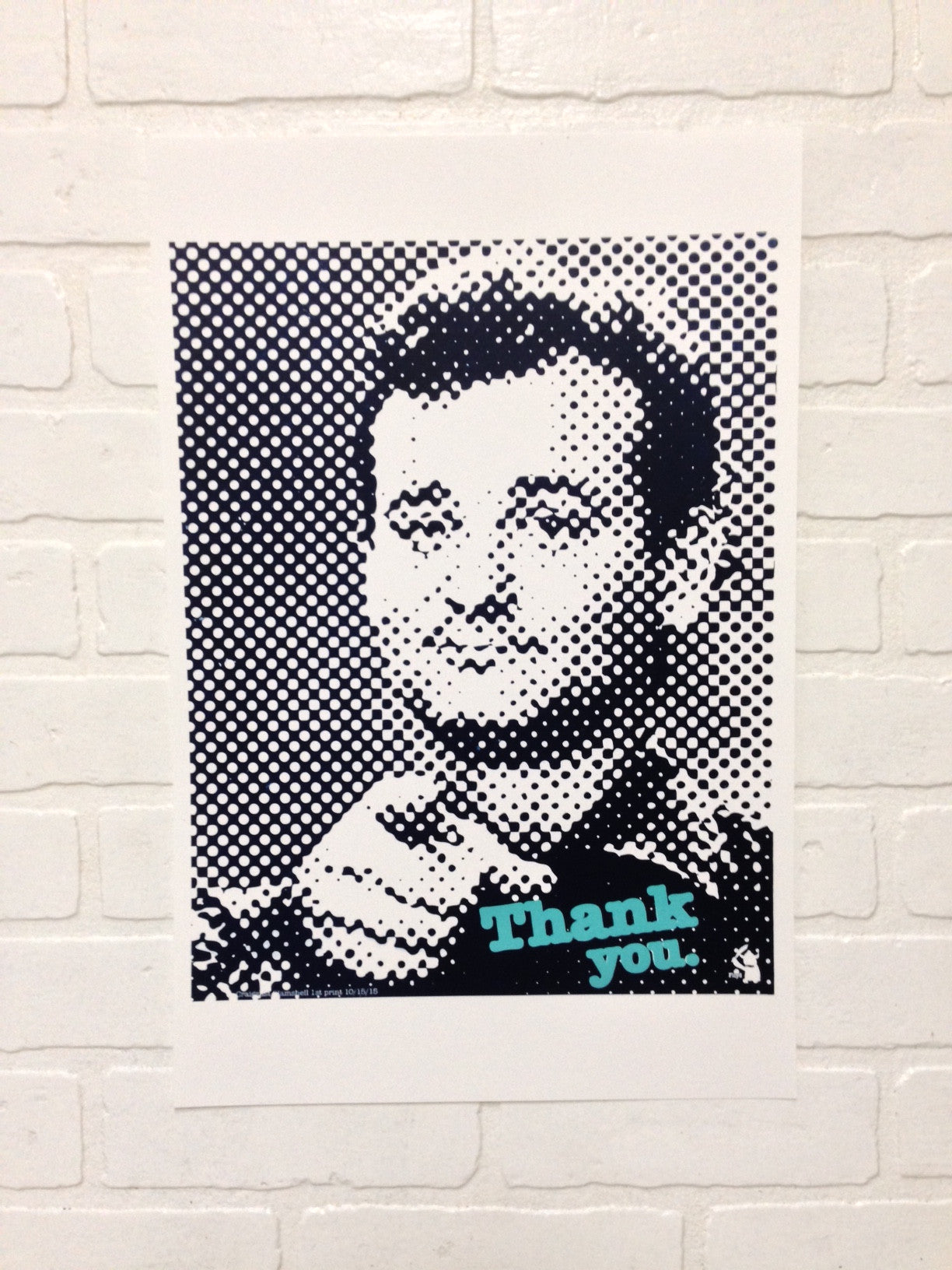 "Bill Murray ""Thank You"" 12.5x19 Poster"