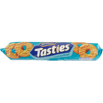 McVities Tasties Coconut Rings (300g)