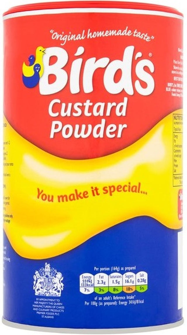 Birds Custard Powder Drum (600g)