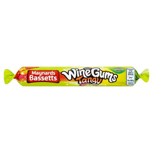 Maynards Bassetts Wine Gums Tangy Roll (52g)
