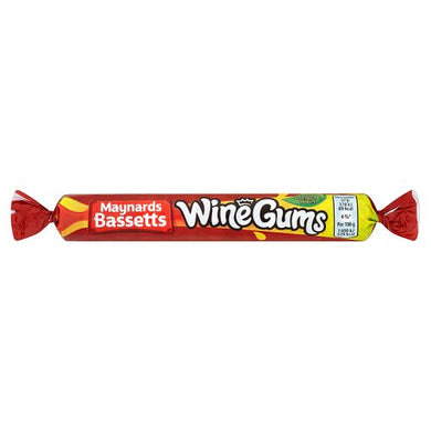 Maynards Bassetts Wine Gums Roll (52g)
