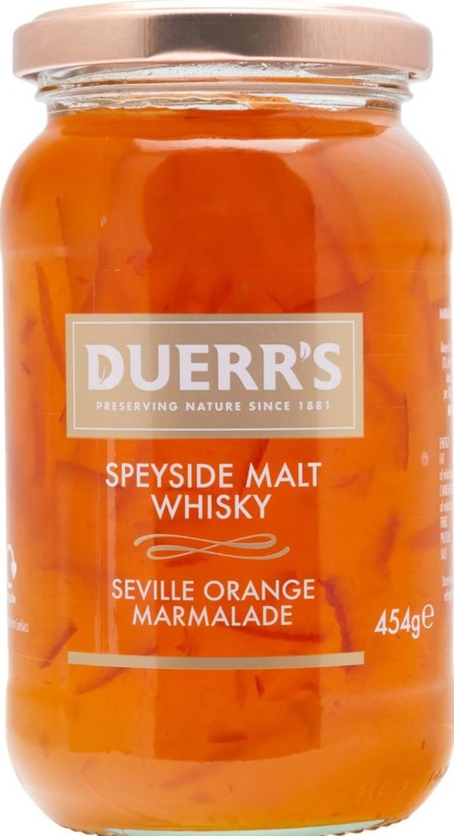 Duerr's Whisky & Orange Marmalade (454g)