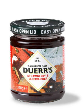 Duerr's Strawberry & Elderflower Conserve (340g)
