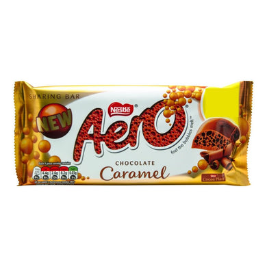 Nestle Aero Chocolate Caramel (100g)